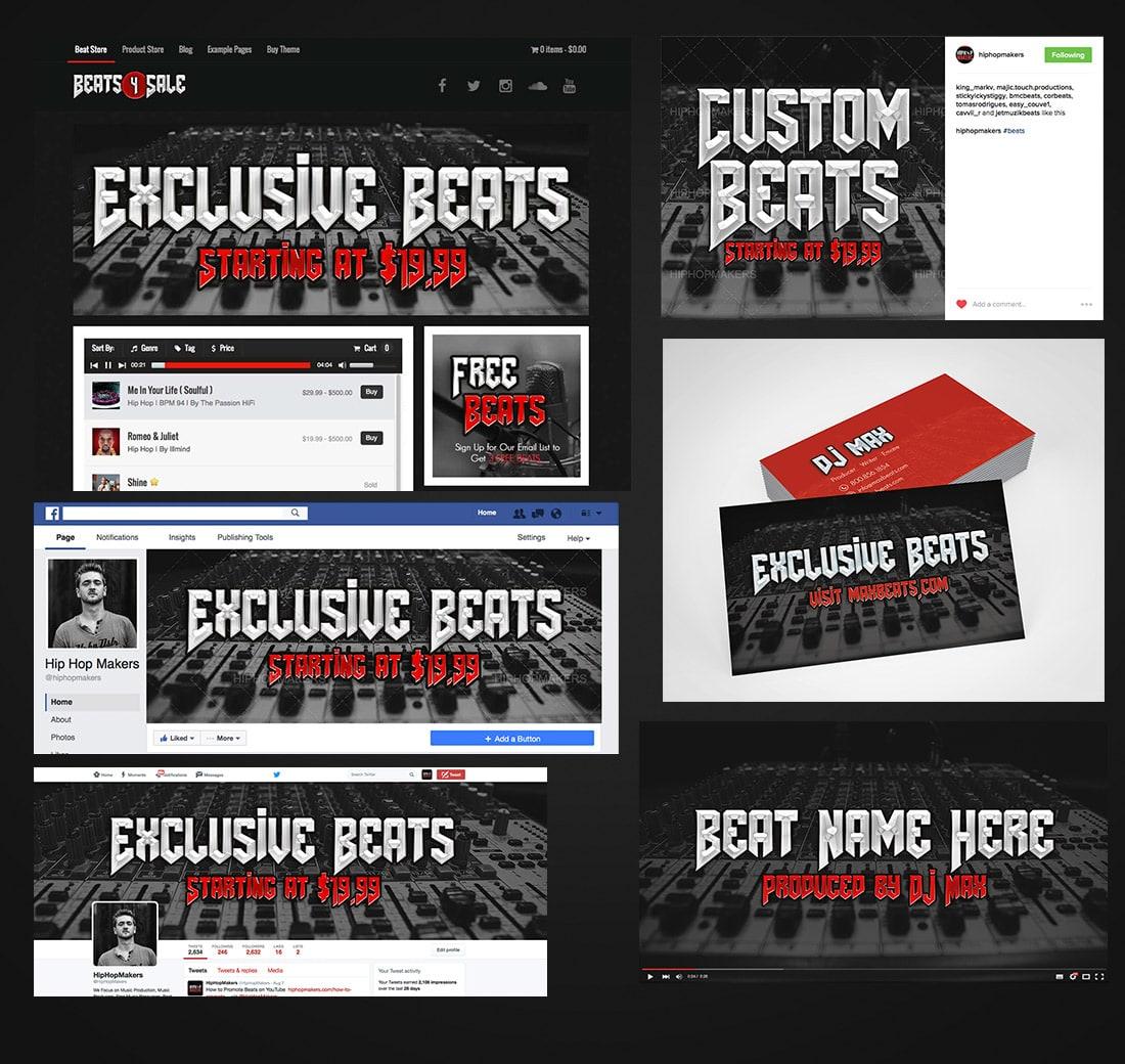 Sell Beats Online, Beat Selling Website, Music Maker WordPress Theme